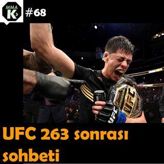 MMA Klinik #68 - Egemen Baranok ile UFC 263 sonrası değerlendirmesi