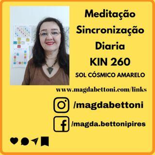 Meditação de Sincronização diária  kin 260