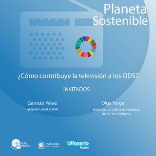 ¿Cómo contribuye la televisión a la ODS?