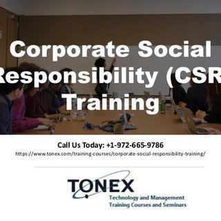 Corporate Social Responsibility (CSR) Training