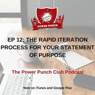 The Rapid Iteration Process for your statement of purpose