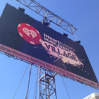 iHeartRadio Music Festival Village!!