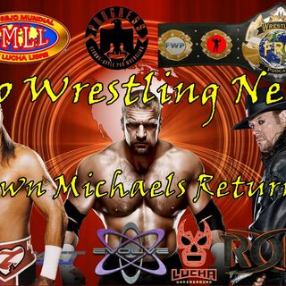 Fro Wrestling News - Shawn Michaels Returning?