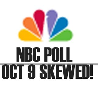 Morning minute NBC Poll Skewed - Oct 12 2016