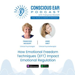 S2E2: How Emotional Freedom Techniques (EFT) Impact Emotional Regulation with Anne Siret