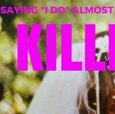 """Saying """"I do"""" almost killed me"""