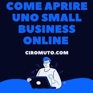Come aprire uno small business online