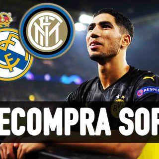 """Calciomercato Inter, Hakimi: fatta! Cds: """"Recompra soft al Real Madrid"""""""
