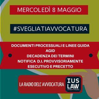 DOCUMENTI PROCESSUALI E LINEE GUIDA AGID – DECADENZA DEI TERMINI – NOTIFICA D.I. PROVVISORIAMENTE ESECUTIVO E PRECETTO #SvegliatiAvvocatura