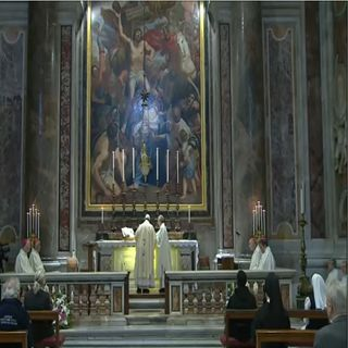 Papa inauguró reapertura de la Basílica de San Pedro