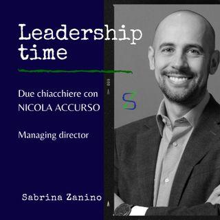 Due chiacchiere con Nicola Accurso, managing director