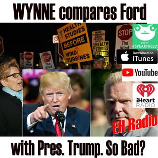 Morning moment WYNNE compares Ford with Pres. Trump. SO bad? May 4  2018