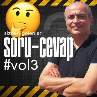 SoruCevap Sizden Gelenler #vol3, Prof. Dr. Duran Berker Cemil