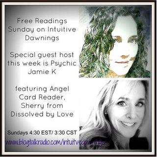 Free Readings with Jamie K and Sherry
