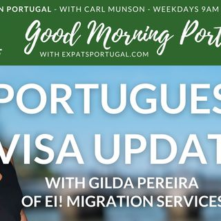 Portuguese visa update on the Good Morning Portugal! Show