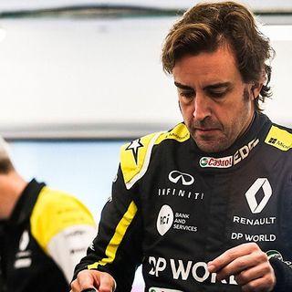 Fernando Alonso en reposo absoluto