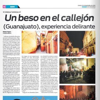 Callejón del beso en Guanajuato