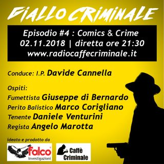 #4 Episodio | Comics & Crime_02.11.2018