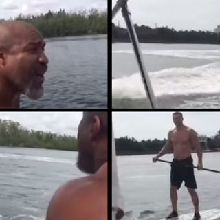 Ringside Boxing Show: How angry was Wladimir Klitschko when Shannon Briggs knocked him off his paddleboard? Johnathon Banks reveals all