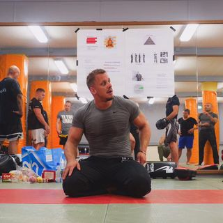 UC Combatives Instructor Michiel Mulder