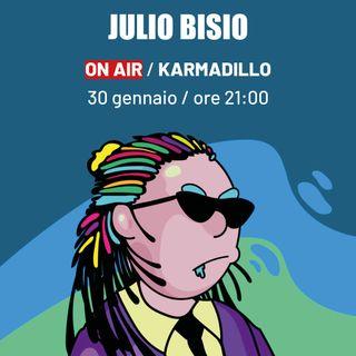 Julio Bisio, W!ngo e Sang Crew: feat e portali spaziali a Ferrara - Karmadillo - s03e14