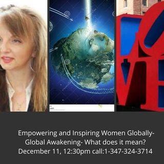 Empowering and Inspiring Women Globally- Global Awakening
