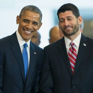 Merry Christmas America, from Paul Ryan and Barack Obama