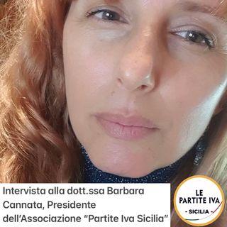 """Intervista a Barbara Cannata, Pres. Associazione """"Le Partite Iva"""" - Sicilia"""