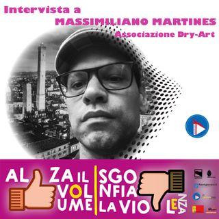 AlzailVolume#2. La 1C #Scuola Media Giuseppe Dozza di Bologna intervista Massimiliano Martines