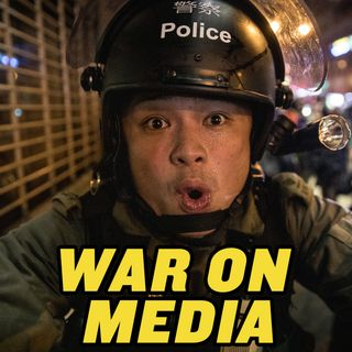 #118 Hong Kong's War on the Press | Epoch Times Reporter Attacked!
