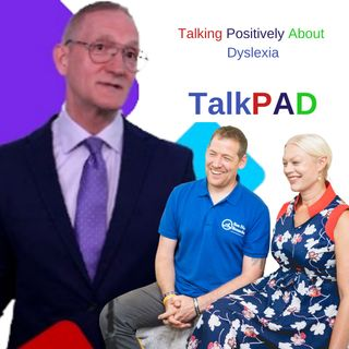 TalkPAD - Talk positively about dyslexia with Shawn Meredith