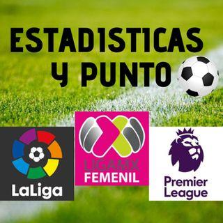 La Liga jornada 7, la Premier League jornada 6 y la LigaMX FEMENIL jornada 12