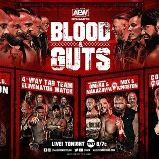 AEW Dynamite Blood & Guts Review w/Ashley Mann