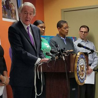 Sen. Markey, Gun Safety Advocates Call For 'Common Sense' Regulation