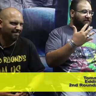 2nd Rounds On Us! Podcasters Tommy James & Eddie: an interview on the Hangin With Web Show