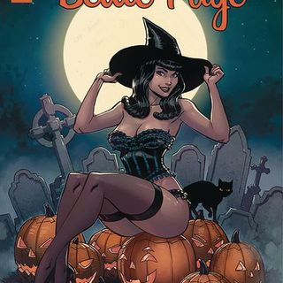Source Material Live: Bettie Page Halloween Specials (2018-2019)