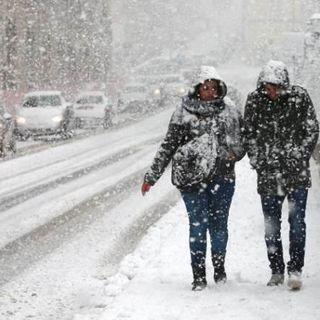 Maltempo sull'Italia: neve in molte regioni