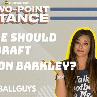 Where should you draft Saquon Barkley? | Fantasy Football 2021