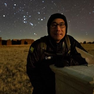 Astrophotographer Stan Honda in Fort Union on Big Blend Radio