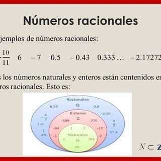 Numero racionales