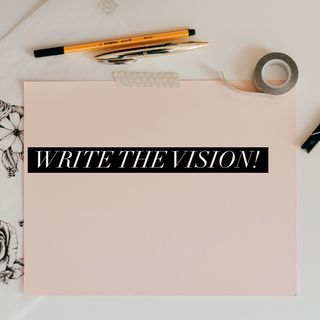 Episode 53- Write the vision!
