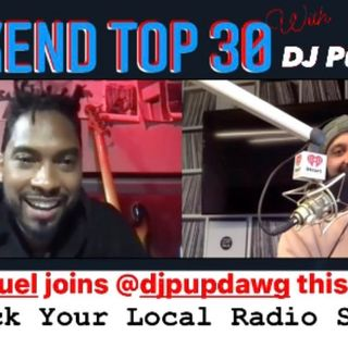 04-24-21 Miguel With Dj Pup Dawg Weekend Party With Pup Podcast
