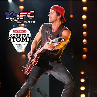 KIP MOORE - 2018 Jackson's Country Stomp Announcement