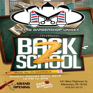 Back2School with DJ SAMROCK
