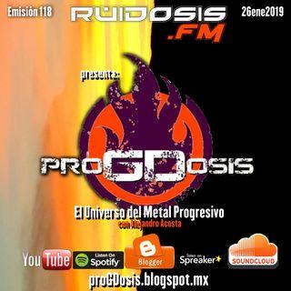 proGDosis 118 - 26ene2019 - Rift Divide