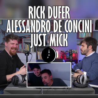 Cogitata con ALESSANDRO DE CONCINI + incursioni di JUST MICK