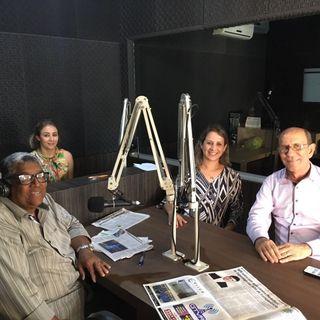Janayna na Rádio Silvestre