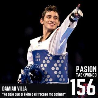 """Damián Villa """"No dejo que ni el éxito ni el fracaso me definan"""""""