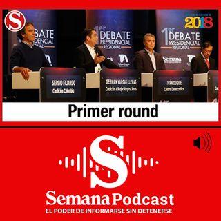 Primer gran debate Presidencial Regional