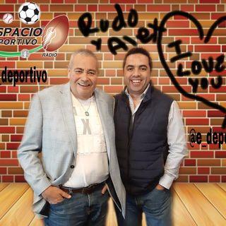 El Rudo Rivera y Alex Cervantes en Espacio Deportivo de la Tarde 18 de Febrero 2020